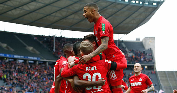 1 Fc Koln Deklassiert Hertha Bsc Mit 5 0 Koeln De