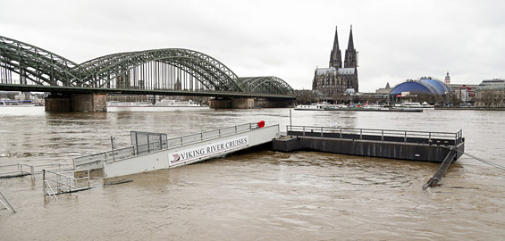 Hochwasser Köln Heute