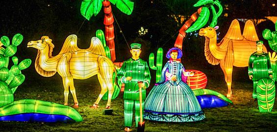 Zoo Köln China Light Festival
