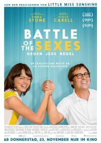 Battle of the Sexes - Gegen jede Regel Filmposter