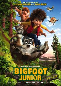 Bigfoot Junior Filmposter