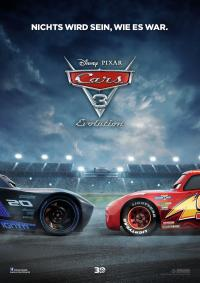 Cars 3 - Evolution Filmposter