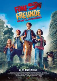 Fünf Freunde und das Tal der Dinosaurier Filmposter