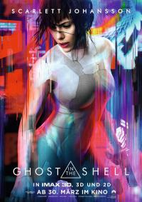 Ghost in the Shell 3D Filmposter