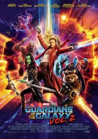 Guardians of the Galaxy Vol. 2 3D Filmposter