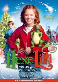 Hexe Lilli rettet Weihnachten Filmposter