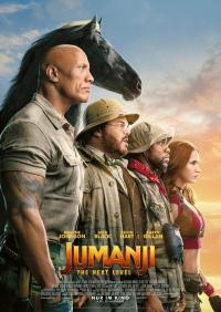 Jumanji: The Next Level 3D Filmposter