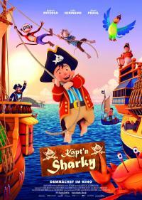 Käpt'n Sharky Filmposter