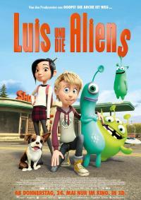 Luis und die Aliens 3D Filmposter
