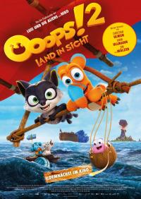 Ooops! 2 - Land in Sicht Filmposter