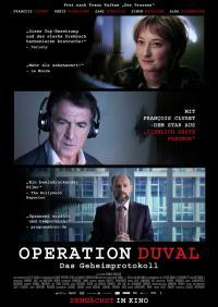 Operation Duval - Das Geheimprotokoll Filmposter