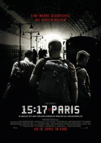 The 15:17 to Paris Filmposter