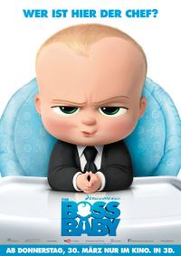 The Boss Baby 3D Filmposter