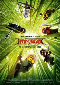The Lego Ninjago Movie 3D Filmposter