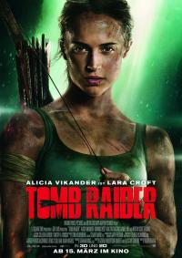Tomb Raider 3D Filmposter